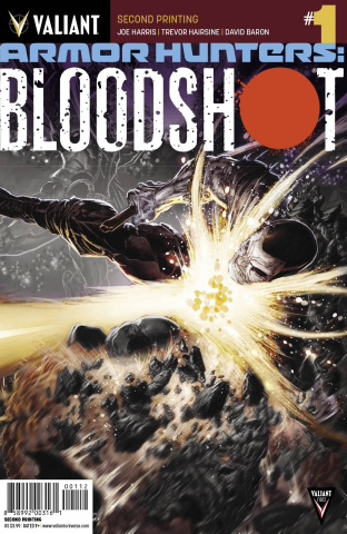 Armor Hunters: Bloodshot #1 (2nd Printing)