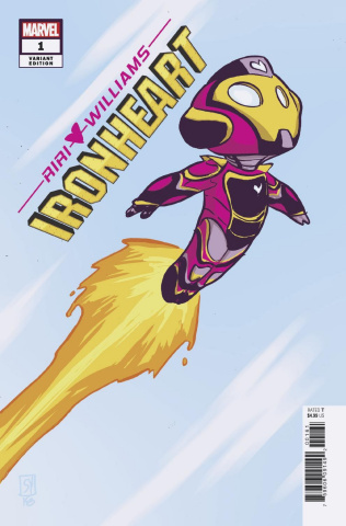 Ironheart #1 (Young Cover)