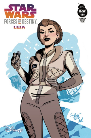 Star Wars Adventures: Forces of Destiny - Leia (Cover B)