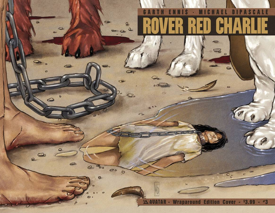 Rover Red Charlie #3 (Wrap Cover)