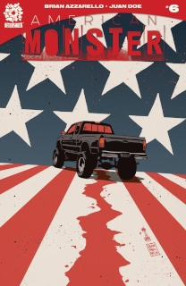 American Monster #6 (Free 10 Copy Francavilla Cover)