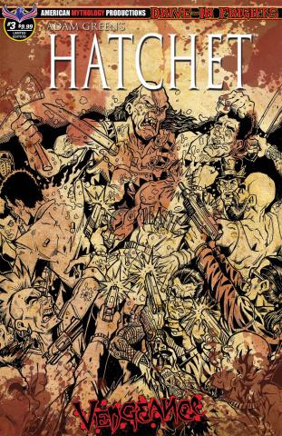 Hatchet: Vengeance #3 (Bloody Horror Cover)