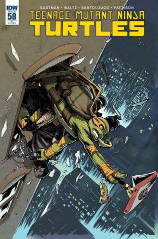 Teenage Mutant Ninja Turtles #58 (10 Copy Cover)