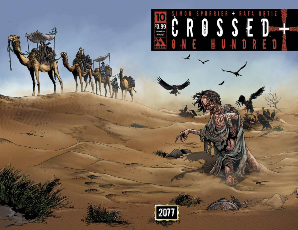 Crossed + One Hundred #10 (American History X Wrap Cover)