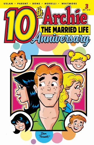 Archie: The Married Life - 10 Years Later #3 (Parent Cover)