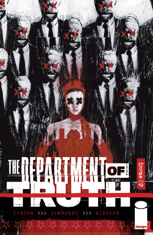 The Department of Truth #2 (50 Copy Simmonds Cover)