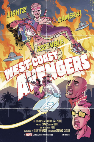 West Coast Avengers #2 (Fleecs Cover)
