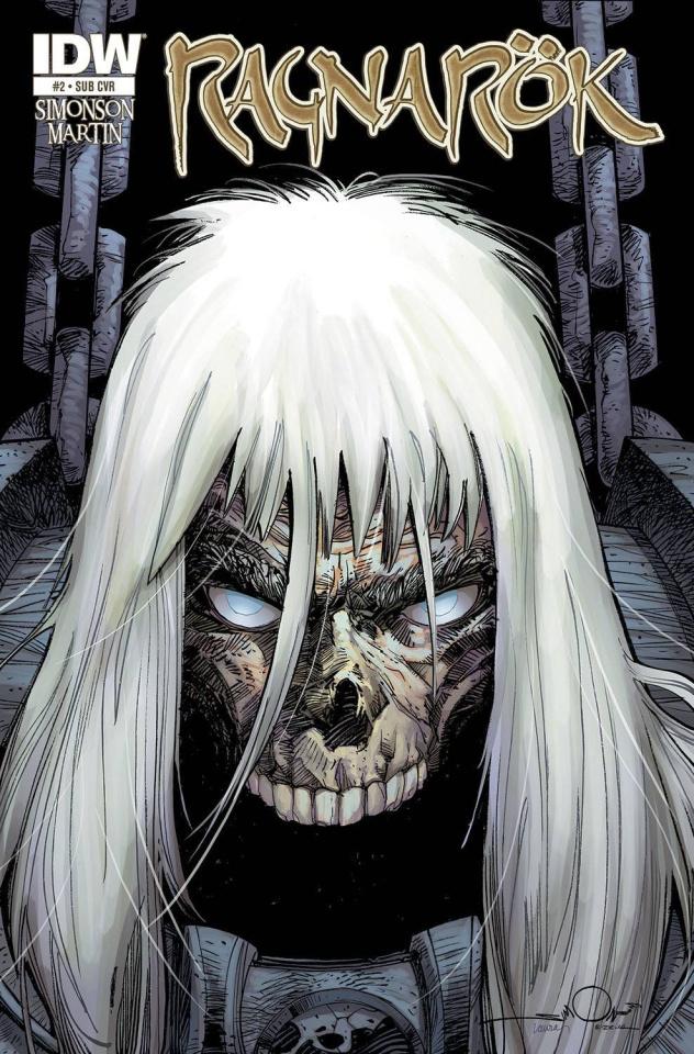 Ragnarök #2 (Subscription Cover)