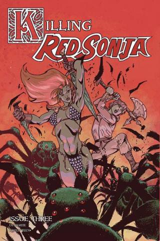 Killing Red Sonja #3 (Castro Bonus Cover)