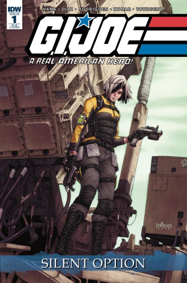 G.I. Joe: A Real American Hero - Silent Option #1 (25 Copy Cover)