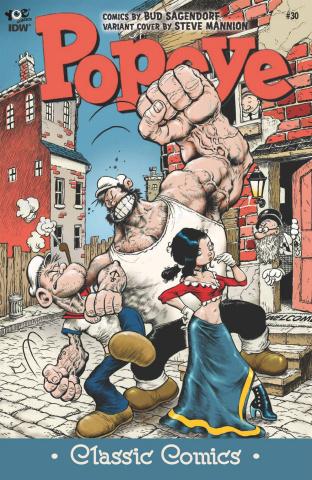 Popeye Classics #30 (10 Copy Cover)