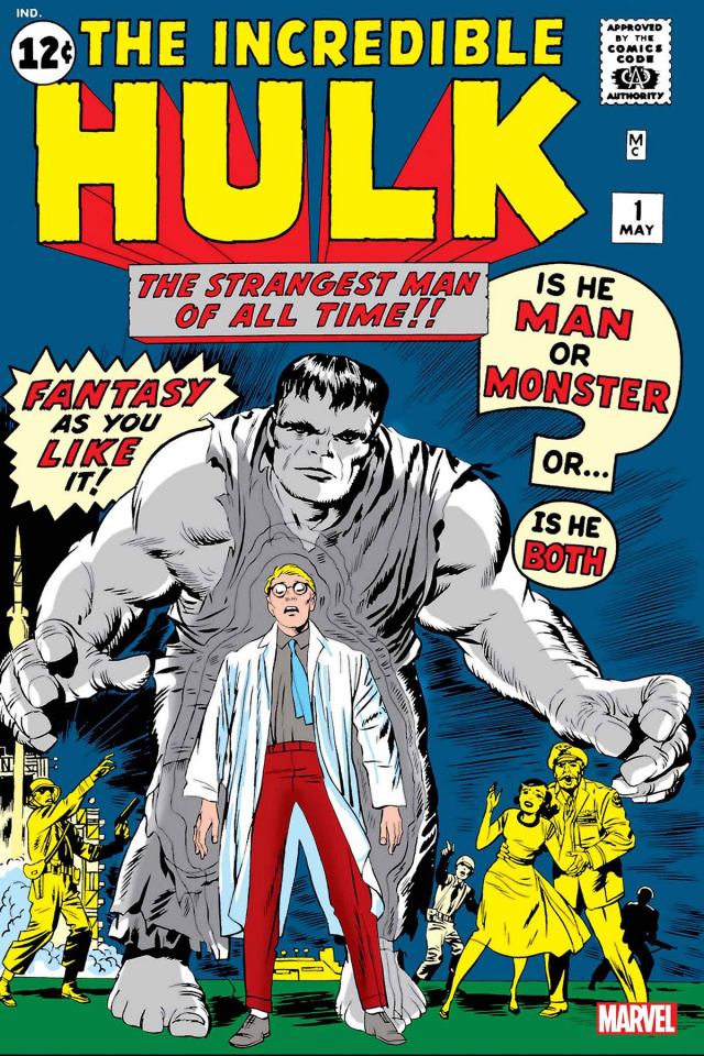 The Incredible Hulk #1 (Facsimile Edition)