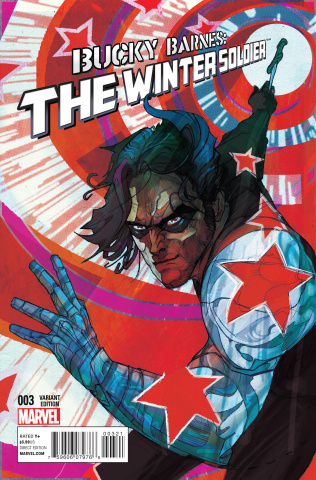Bucky Barnes: The Winter Soldier #3 (Ward Cover)