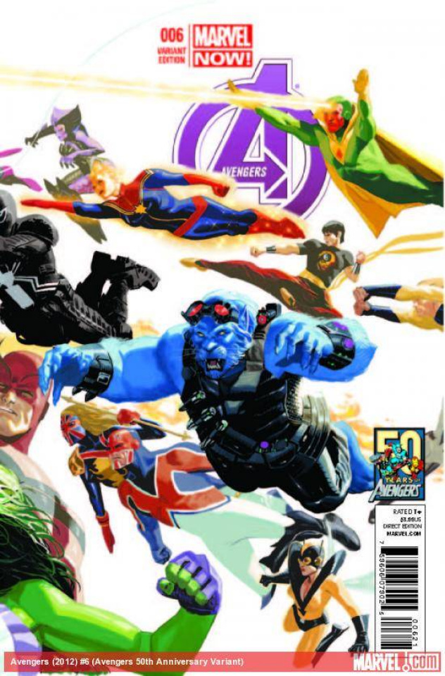 Avengers #6 (50th Anniversary Acuna Cover)