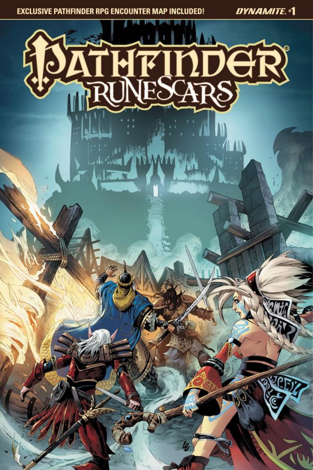 Pathfinder: Runescars #1 (Lau Cover)