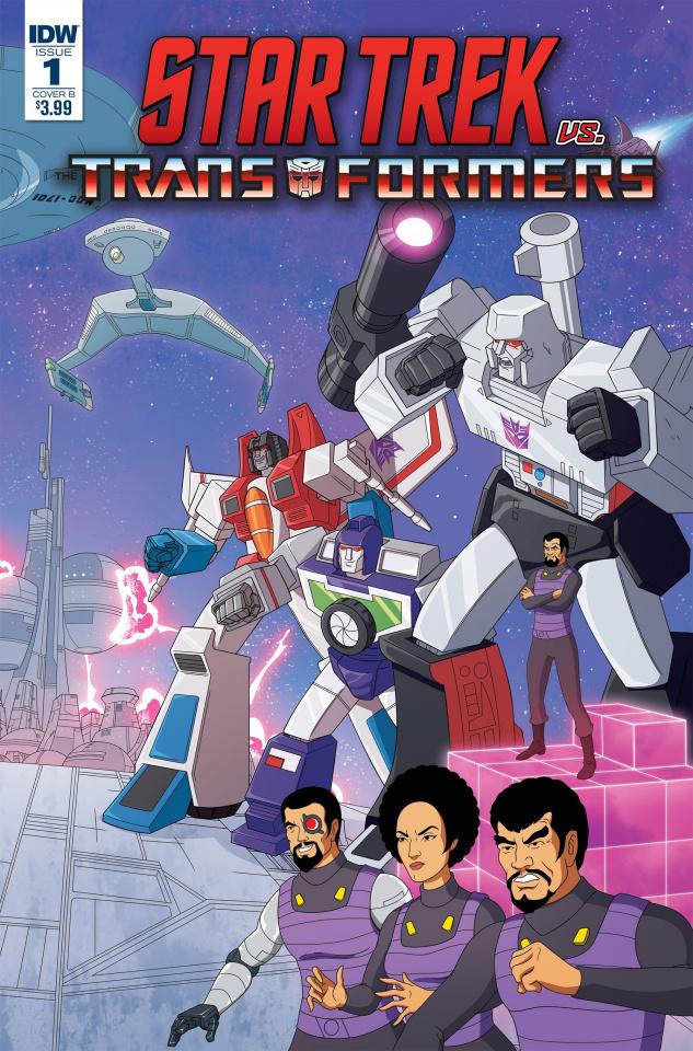 Star Trek vs. The Transformers #1 (Murphy Cover)