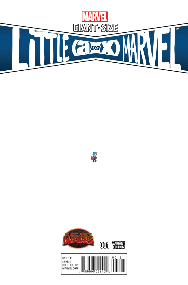Giant-Size Little Marvel: AvX #1 (Young Ant-Sized Cover)