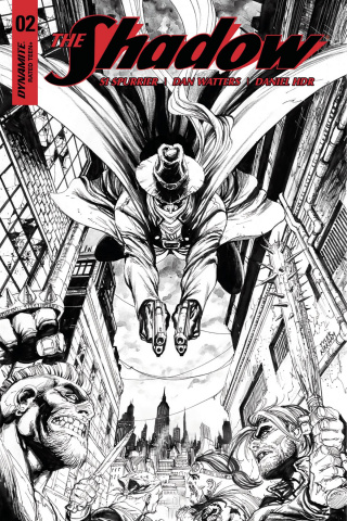 The Shadow #2 (30 Copy Kirkham B&W Cover)