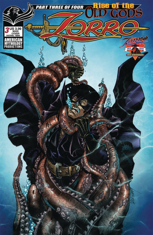 Zorro: Rise of the Old Gods #3 (Calzada Cover)