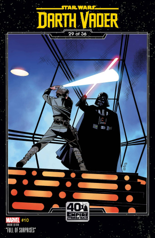 Star Wars: Darth Vader #10 (Sprouse Empire Strikes Back Cover)
