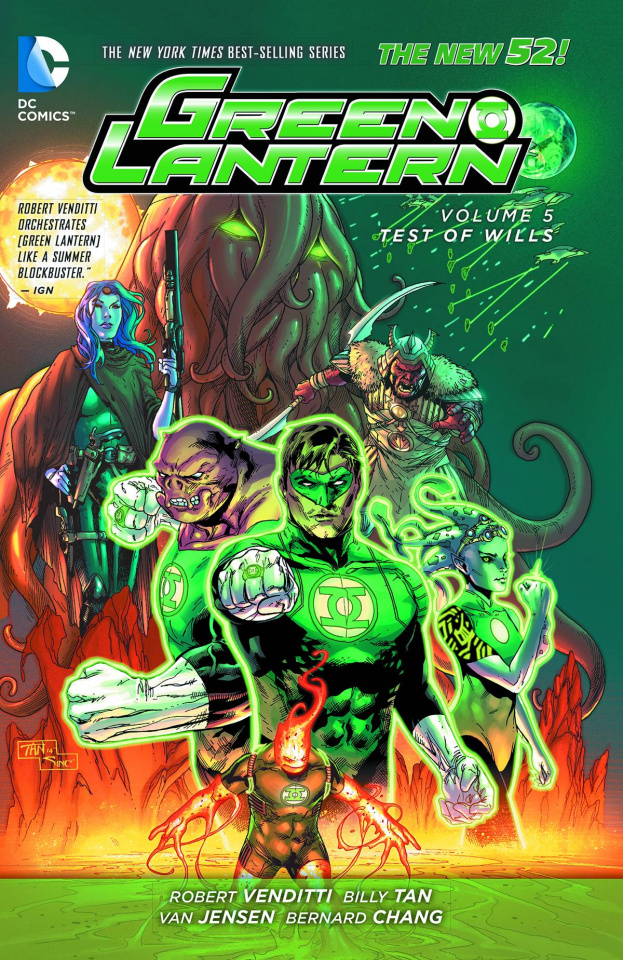 Green Lantern Vol. 5: Test of Wills