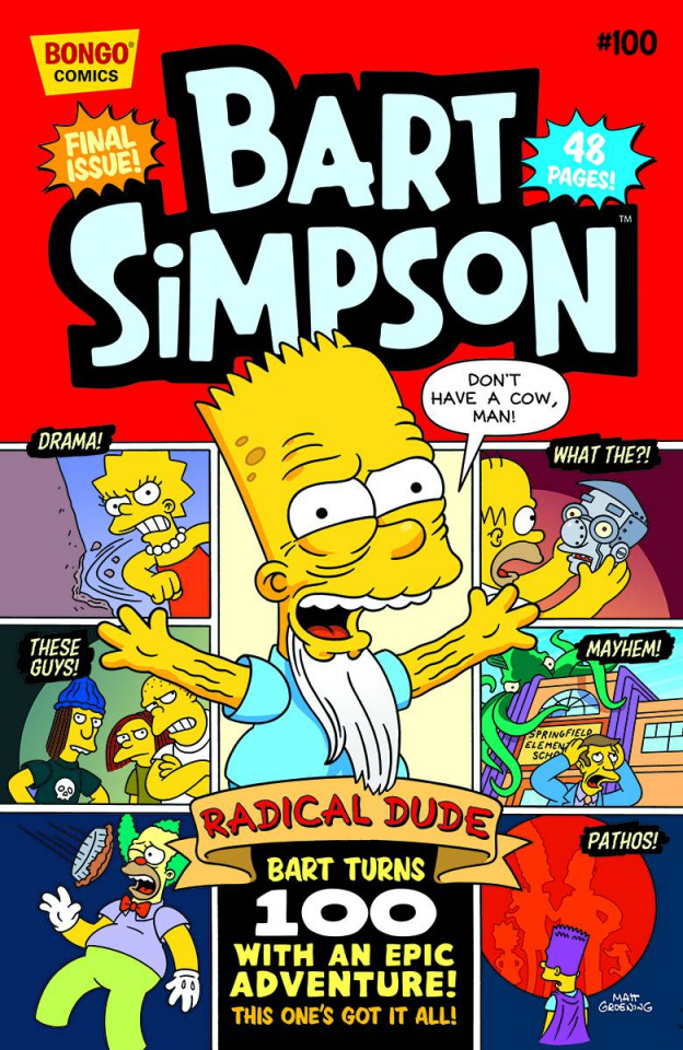 Bart Simpson Comics #100