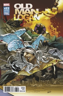 Old Man Logan #23 (Land Past Lives Cover)