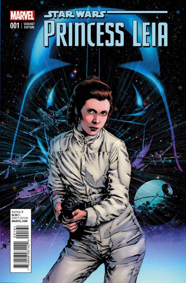 Princess Leia #1 (Guice Cover)
