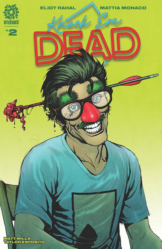 Knock 'Em Dead #2 (Andy Clarke Cover)