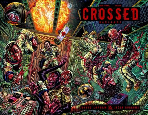 Crossed: Badlands #13 (Wrap Cover)