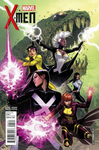 X-Men #25 (Cheung Cover)