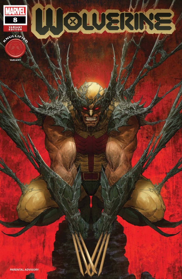 Wolverine #8 (Rapoza Knullified Cover)