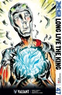 X-O Manowar #47 (50 Copy Lemire Cover)