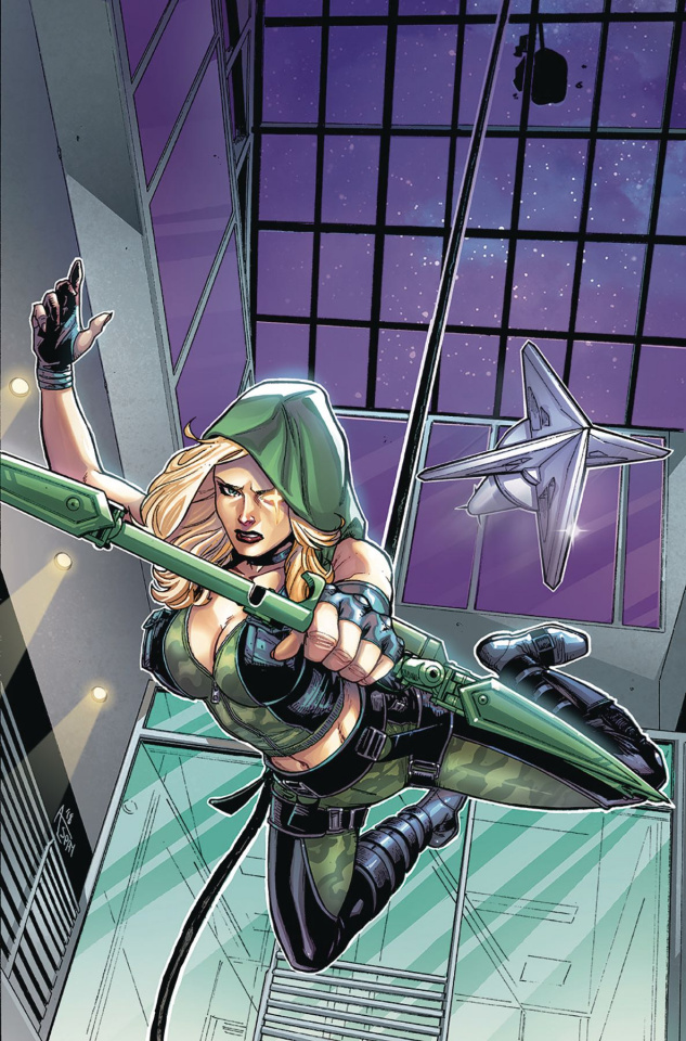 Robyn Hood: Outlaw #3 (Spay Cover)