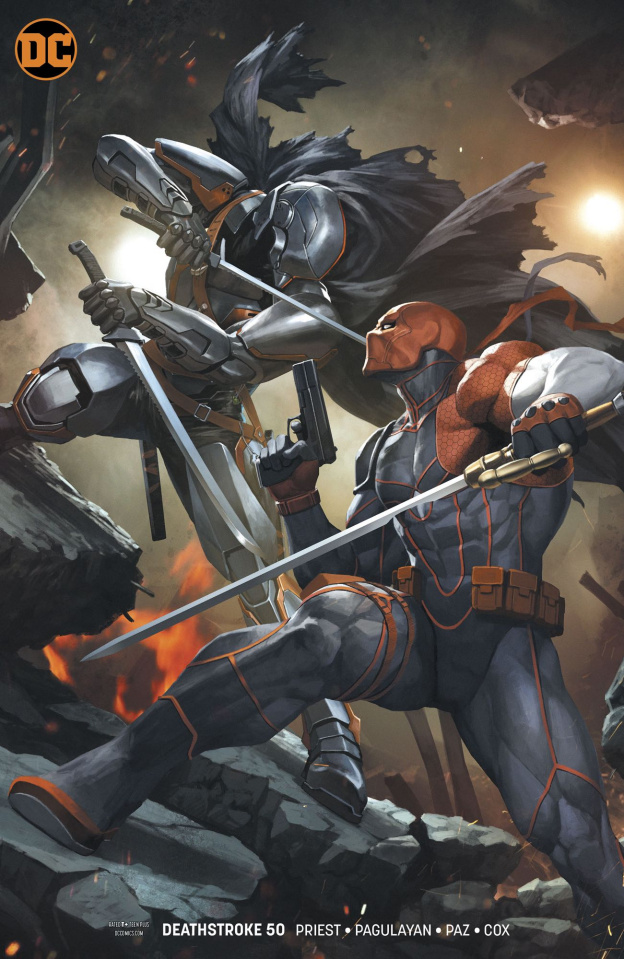 Deathstroke #50 (Variant Cover)