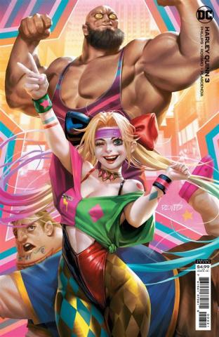 Harley Quinn #3 (Derrick Chew Card Stock Cover)
