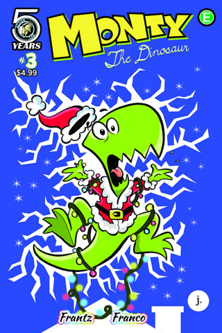 Monty the Dinosaur #3 (Cosley Cover)