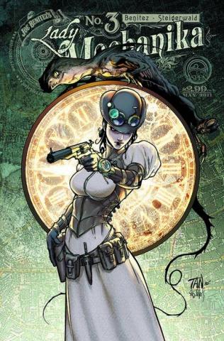 Lady Mechanika #3 (Tan Cover)