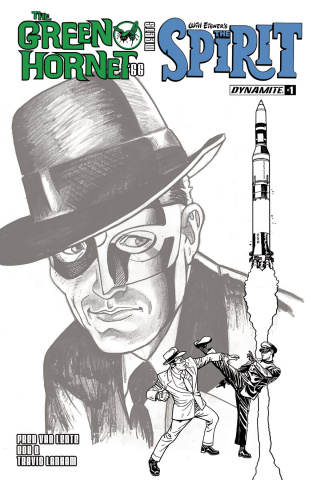 The Green Hornet '66 Meets The Spirit #1 (10 Copy Cover)