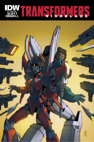 The Transformers: Windblade #7 (Subscription Cover)