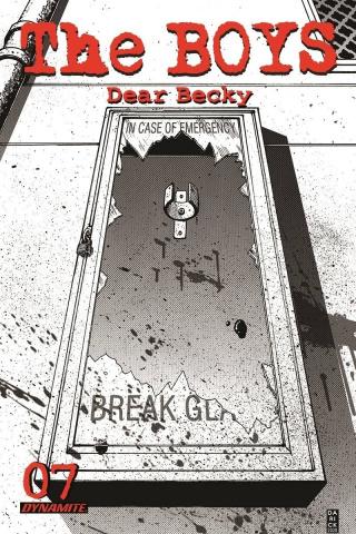 The Boys: Dear Becky #7 (Robertson Premium Bonus Cover)