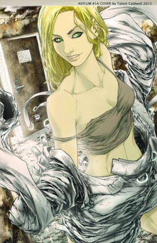 Grimm Fairy Tales: Wonderland - Asylum #2 (Caldwell Cover)