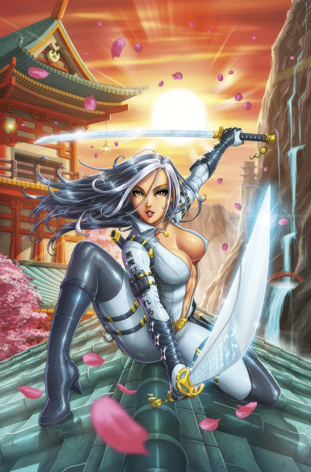 Grimm Fairy Tales: Masumi #1 (Cardy Cover)