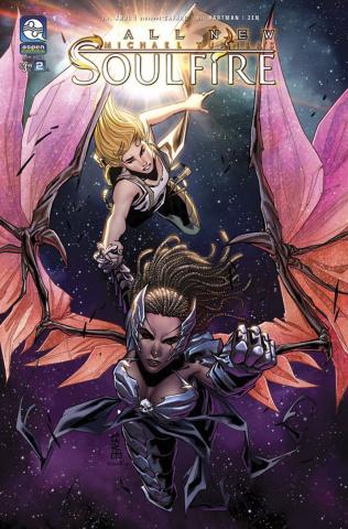 Soulfire #2 (Cafaro Cover)