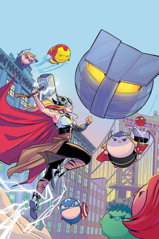 The Mighty Thor #10 (Bustos Tsum Tsum Cover)