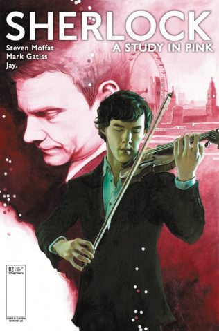 Sherlock: A Study in Pink #2 (Iannicello Cover)