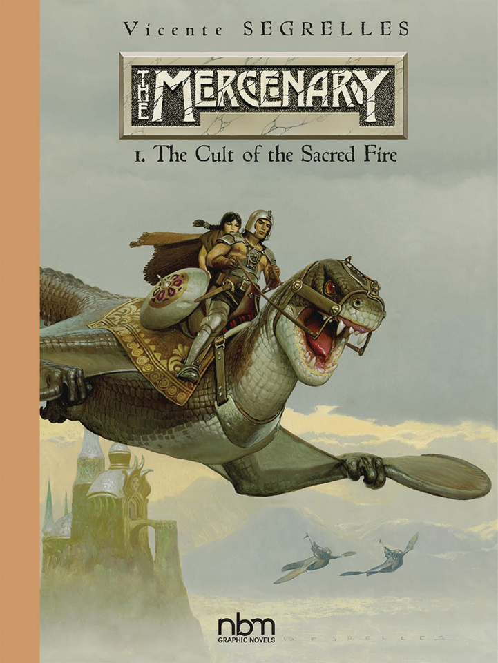 The Mercenary Vol. 1: The Cult of the Sacred Fire