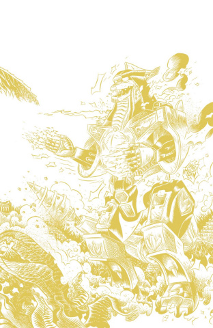Mighty Morphin' Power Rangers #3 (100 Copy Rubin Foil Cover)