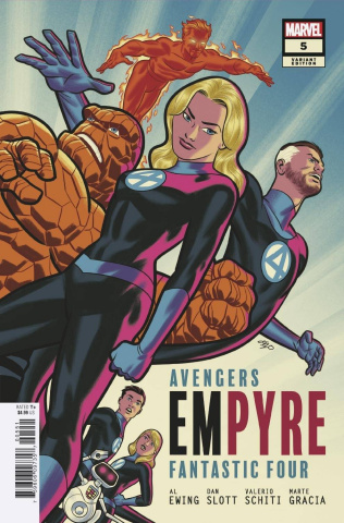 Empyre #5 (Michael Cho FF Cover)