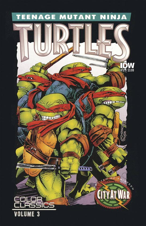 Teenage Mutant Ninja Turtles Color Classics: Series 3 #12